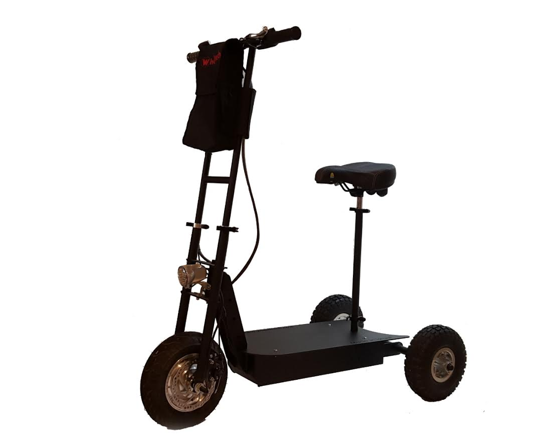 מבריק קורקינט חשמלי שלושה גלגלים דגם comfort | wheeltech PD-49