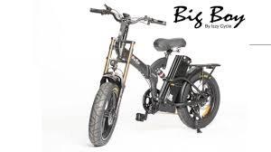 אופניים חשמליים דגם ביג בוי אקסטרים